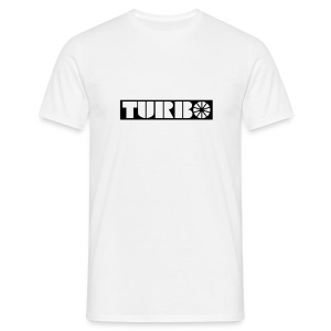 Old Classic  Turbo emblem - Men's T-Shirt
