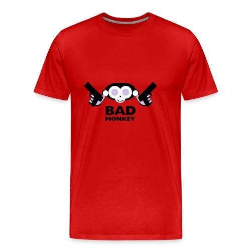 Men's Bad Monkey Burgundy - Men's Premium T-Shirt
