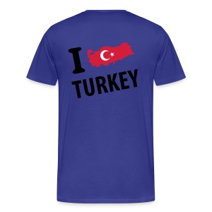 I LOVE TURKEY  - T-shirt Premium Homme