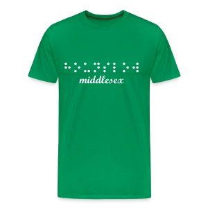 Hounslow, Middlesex | Braille - Men's Premium T-Shirt