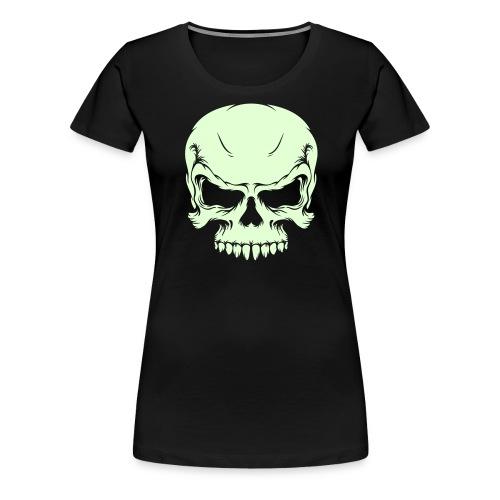 tee shirt femme tête de mort R.I.P - T-shirt Premium Femme