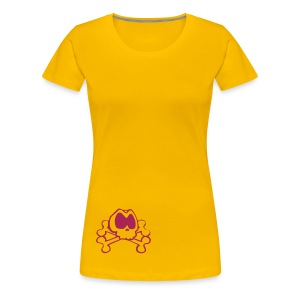 Skulls dames t-shirt - Vrouwen Premium T-shirt