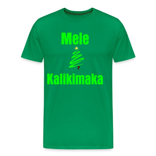 Hawaiian Christmas - Men's Premium T-Shirt