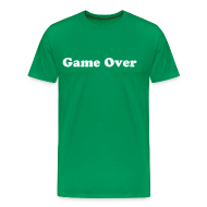 Tee shirts ~ T-shirt Premium Homme ~ Game Over