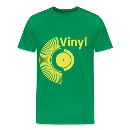 Vinyl - Camiseta premium hombre