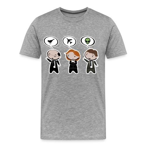 x files bird plane ufo - Camiseta premium hombre