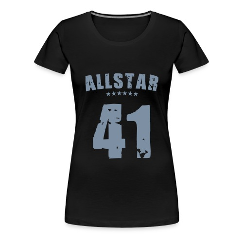 Allstar 41 (silver) - Women's Premium T-Shirt