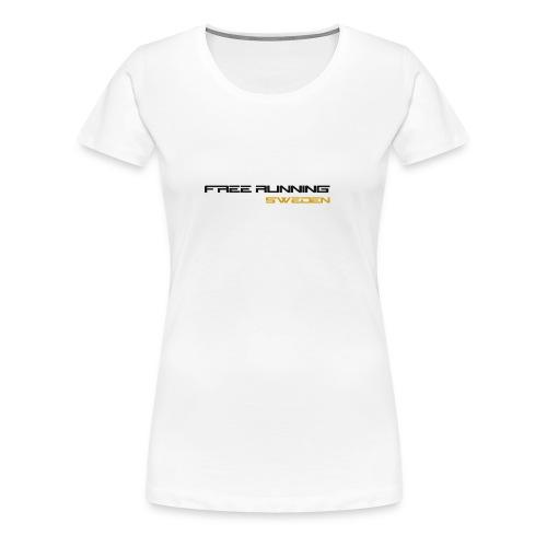 Free Running Sweden, T-Shirt (Women) - Premium-T-shirt dam