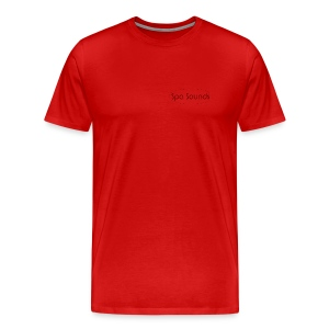 Spa Sounds T Shirt - Men's Premium T-Shirt