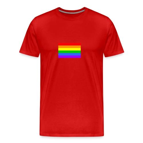 Bandera Gay - Camiseta premium hombre
