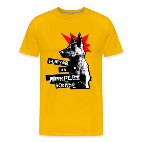 Herder - gelb Shirt - Männer Premium T-Shirt