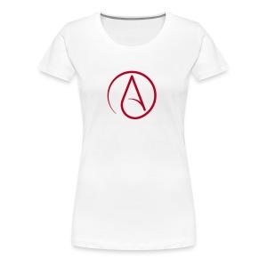 Atheist - Vrouwen Premium T-shirt