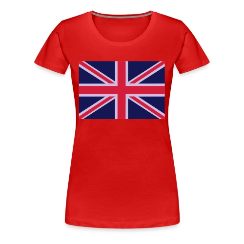 Union Jack - Union Flag - G.B - Women's Premium T-Shirt