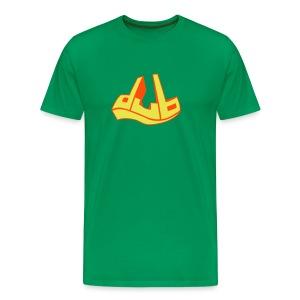 dub bi-color - Men's Premium T-Shirt