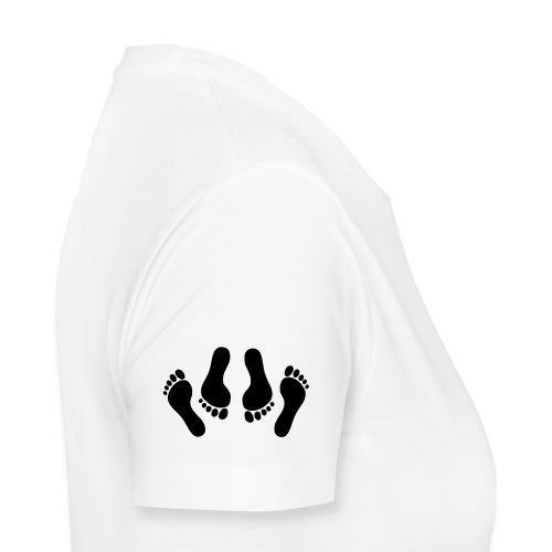 Hjerter - Dame premium T-shirt