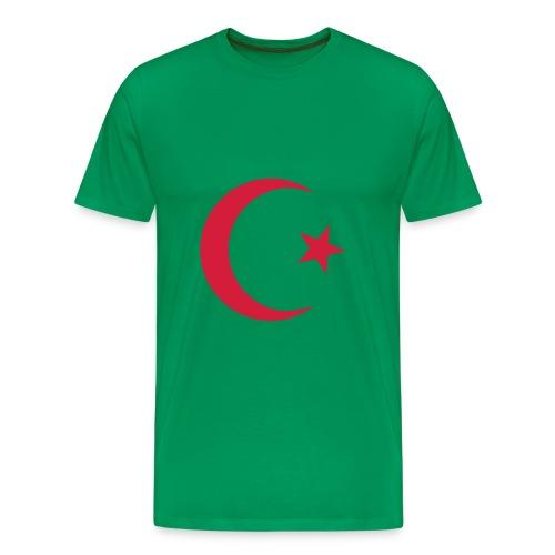 Muslim symbol - Mannen Premium T-shirt