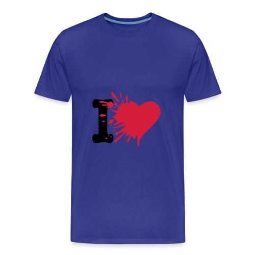 I love u - T-shirt Premium Homme