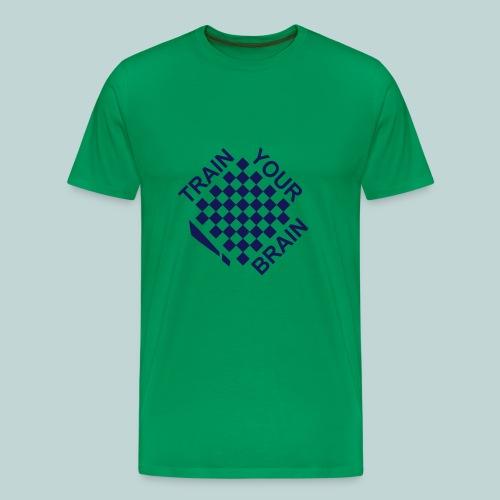 Train your brain 1 - Männer Premium T-Shirt
