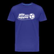T-Shirts ~ Men's Premium T-Shirt ~ The P&B name + number tee (white text)