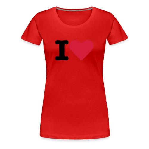 Io Amo! - Maglietta Premium da donna