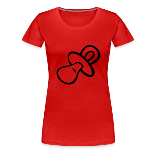Camiseta Chupete - Camiseta premium mujer