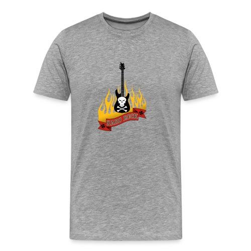hard rock flame - T-shirt Premium Homme