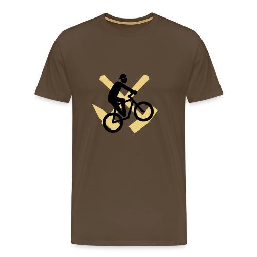 Fahrrad Ruhrgebiet - Männer Premium T-Shirt