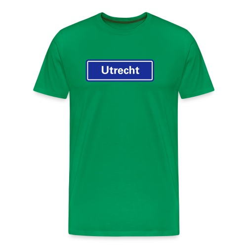 Utrecht (pas zelf de shirtkleur aan) - Mannen Premium T-shirt