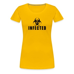 Infected - Women's Premium T-Shirt
