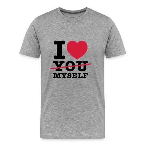 I LOVE MYSELF - Männer Premium T-Shirt