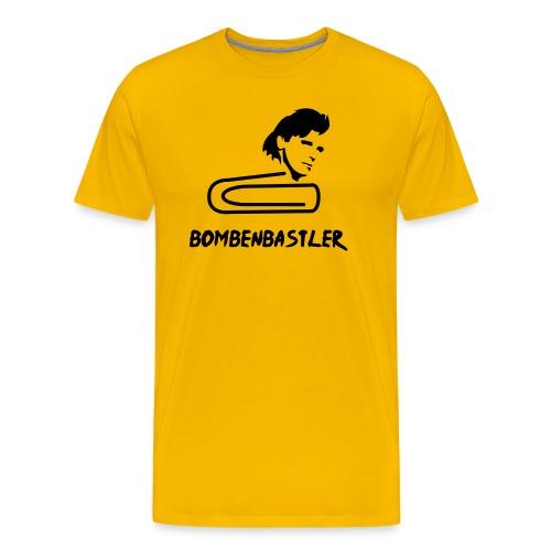 Bombenbastler - yellow shirt - Männer Premium T-Shirt