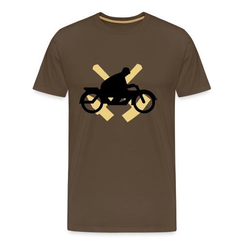Motorrad Ruhrgebiet - Männer Premium T-Shirt