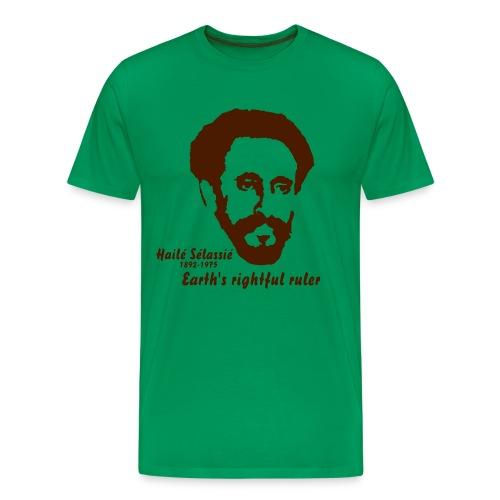 HAILE SELASSIE - T-shirt Premium Homme