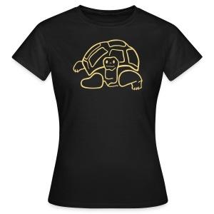 Schildkroeten Shirt Seychelles - Frauen T-Shirt