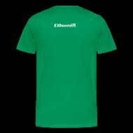 T-Shirts ~ Men's Premium T-Shirt ~ E30 owners do it sideways & Domain on the back