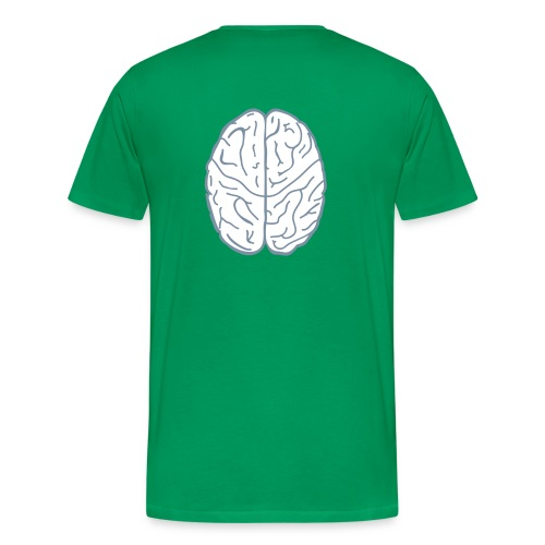 Der Computer arbeitet deshalb so schnell, weil er nicht denkt. - Männer Premium T-Shirt