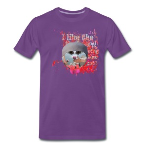 I like the flowers, t-shirt - Herre premium T-shirt