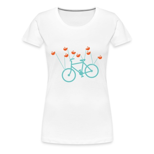 Fail bike - Womens - White - Women's Premium T-Shirt