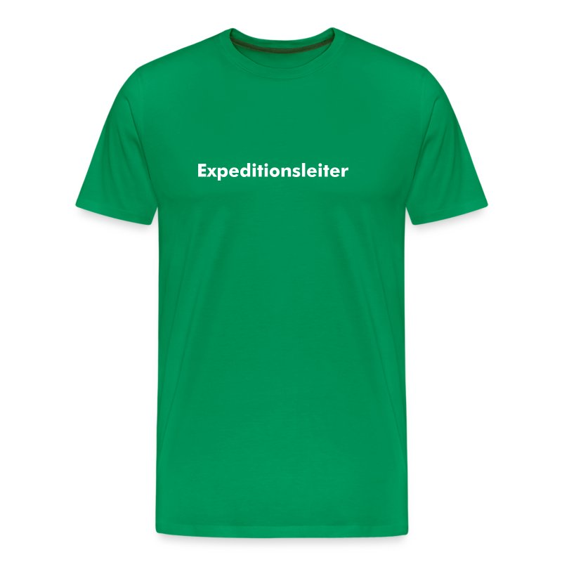 Expeditionsleiter - Männer Premium T-Shirt