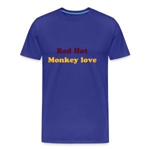 Monkey Love t-shirt - Men's Premium T-Shirt