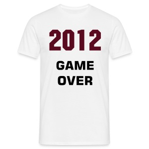 T-Shirt Homme 2012 Game Over - T-shirt Homme