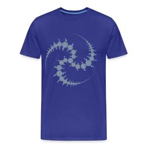 Kornkreis / Cropcircle (silver) - Männer Premium T-Shirt