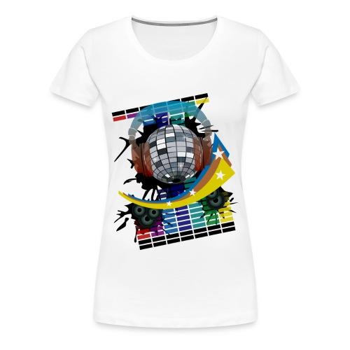 Mirror Ball - Women's Premium T-Shirt