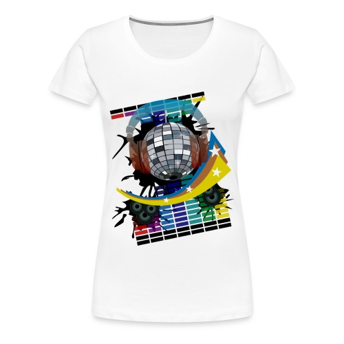Mirror Ball - Women's Premium T-Shirt