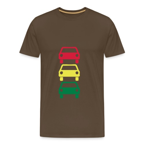 Car - Herre premium T-shirt