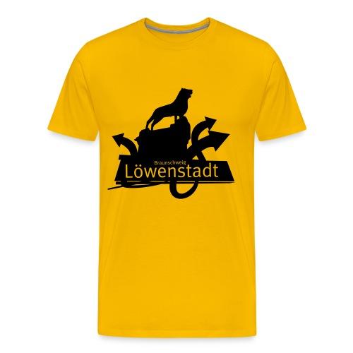 Löwenstadt - Löwe - Männer Premium T-Shirt
