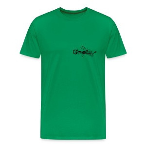grow for men - Männer Premium T-Shirt