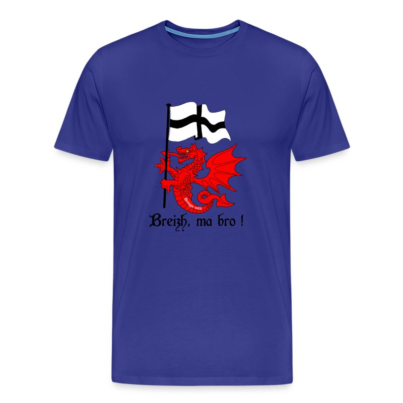 dragon_drapeau_breton - T-shirt Premium Homme