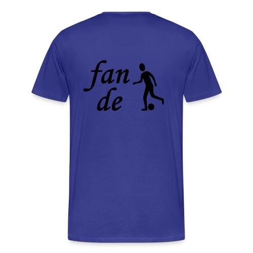 Fan de foot - T-shirt Premium Homme