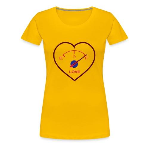Love - damska - Koszulka damska Premium